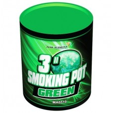 Зленый дым Smoking pot green MA0510/G