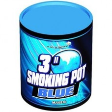 Синий дым Smoking pot blue  MA0510/B