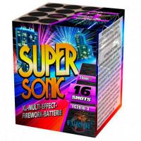 FC2016-3 Super Sonic - фейерверк 16 выстрелов, калибр 20 мм Furor