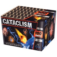 CATACLISM FC25100-1 фейерверк на 100 выстрелов, калибр 25 мм, ФУРОР