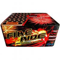 FC25100-2 Fire Ride фейерверк на 100 выстрелов, калибр 25 мм, ФУРОР