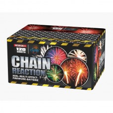 FC30120-1 CHAIN REACTION Фейерверк Furor 120 выстрелов 30 мм