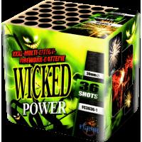 Фейерверк FC3036-1 Wicked Power - 36 выстрелов, 30 мм, ФУРОР