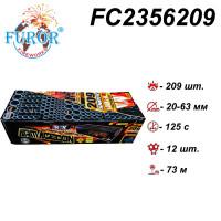 FC2356209 Armagedon фейерверк 209 выстрелов, калибр 20-30-50-63мм, Пиротехнитка Furor